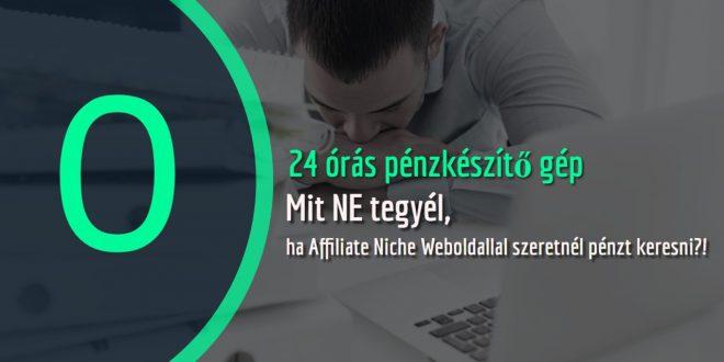 Hogyan keress pénzt Niche weboldalakkal?