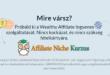 Első lépések online üzletedhez az affiliate marketingben